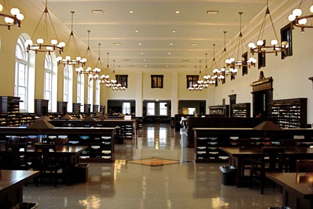 Inside Candler Library – Emory University