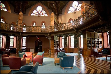 Inside Chancellor Green Library – Princeton University