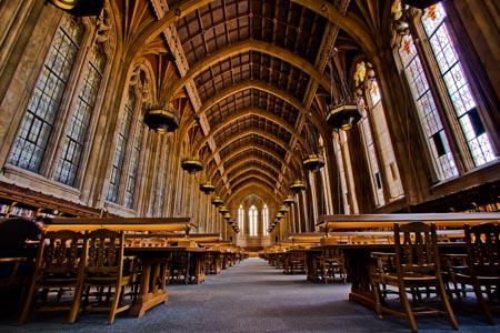 Inside Suzzallo Library – University of Washington
