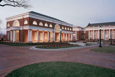 Outside Albert and Shirley Small Special Collections Library – University of Virginia