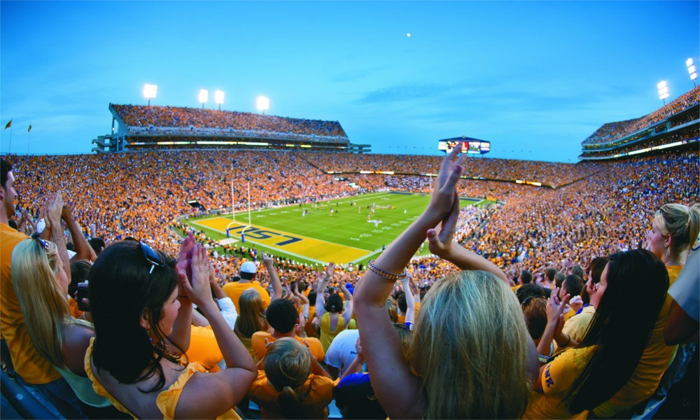 LSU football stadium