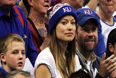 Olivia and Jason KU fans