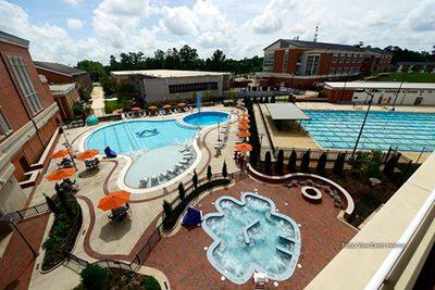 Pool at Auburn University