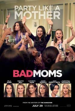 Bad Moms movie cover