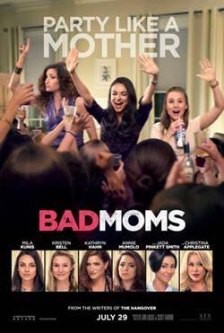 Bad Moms movie cover