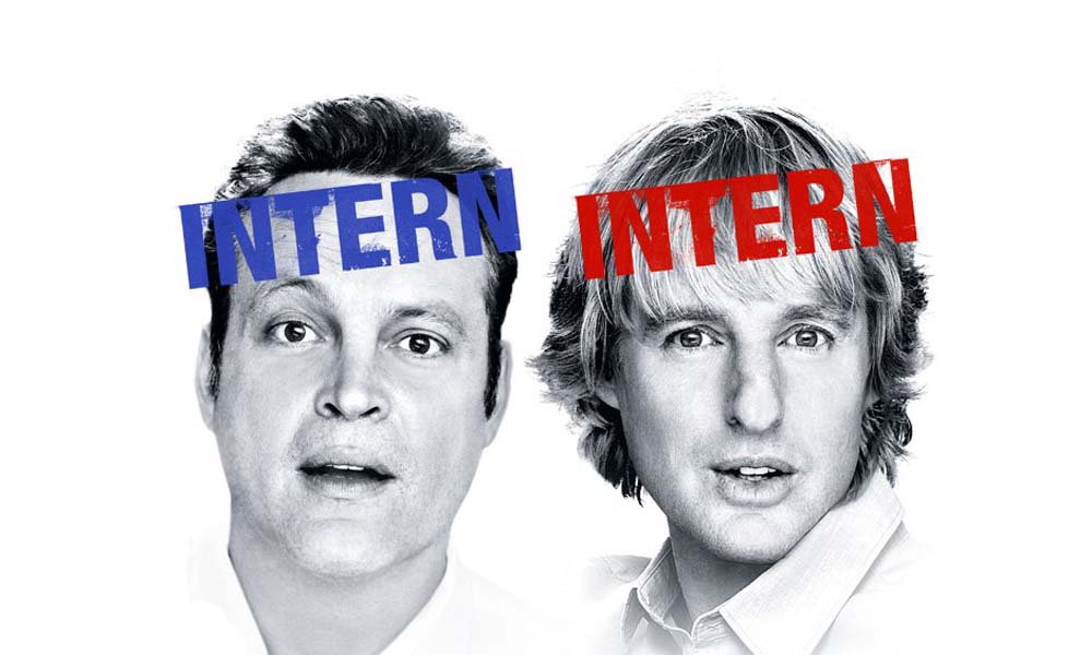 "TWO ACTORS FROM THE MOVIE ""THE INTERNSHIP"""