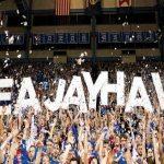 KU Jayhawks basketball fans