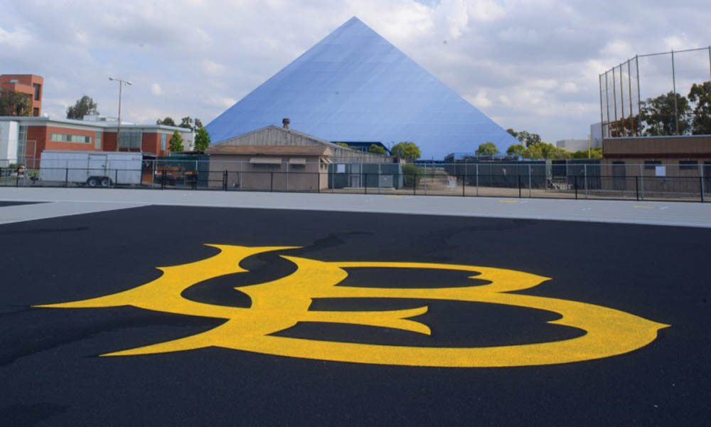 cal state long beach pyramid