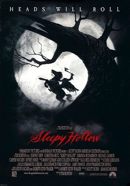 Sleepy Hollow movie poster
