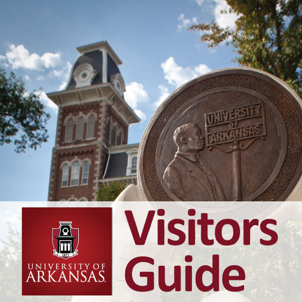 University of Arkansas Visitor Guide Website