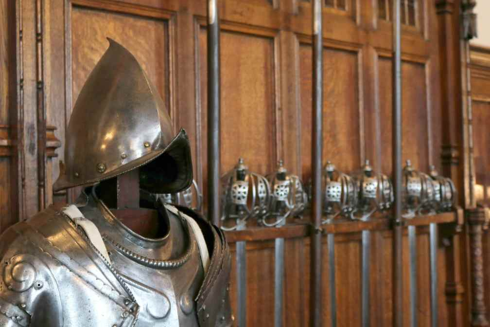 Edinburgh Castle armory