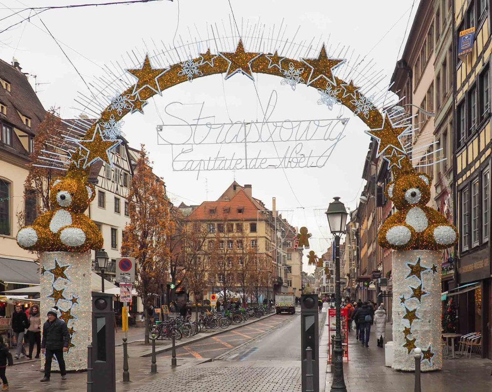 Where is the Christmas market in Strasbourg