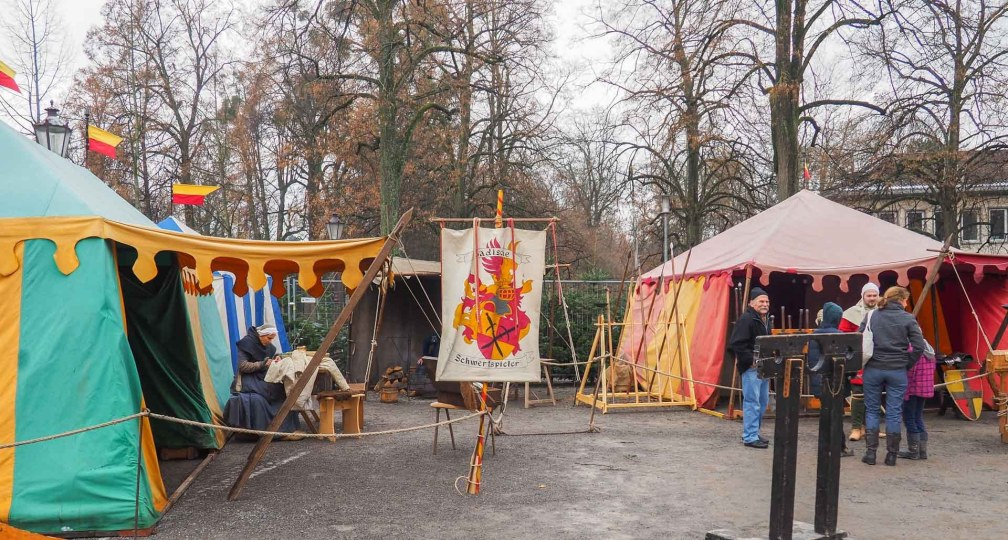 Medieval Christmas market Durlach