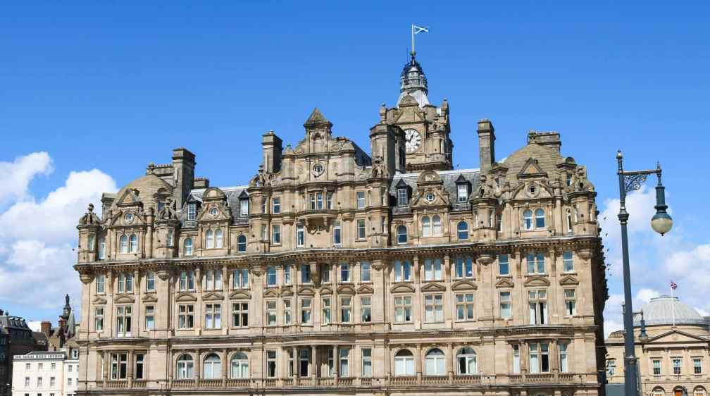 Romantic hotels in Edinburgh to stay