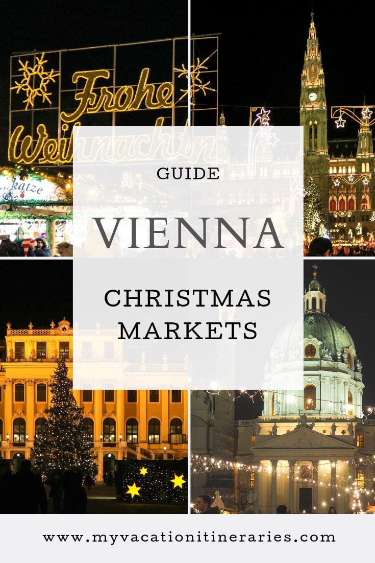 Vienna Christmas market 2021