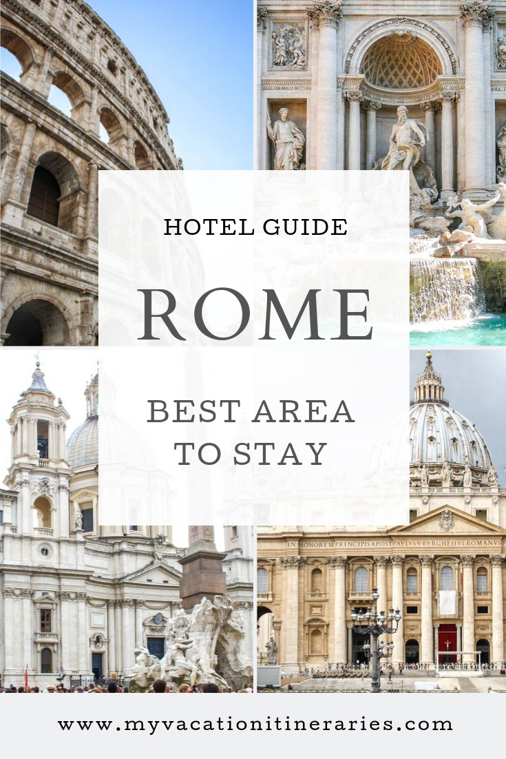 best area to stay in rome for first time visitor