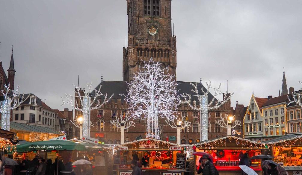 Markt Christmas village