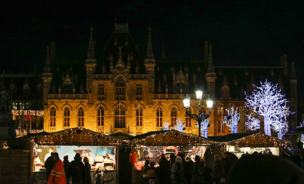 Bruges xmas market