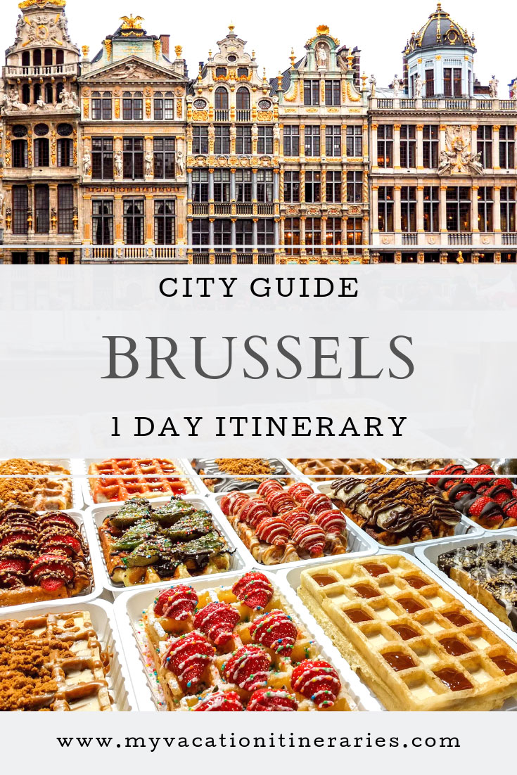 brussels itinerary 1 day