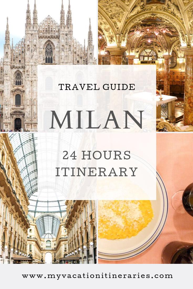 milan itinerary