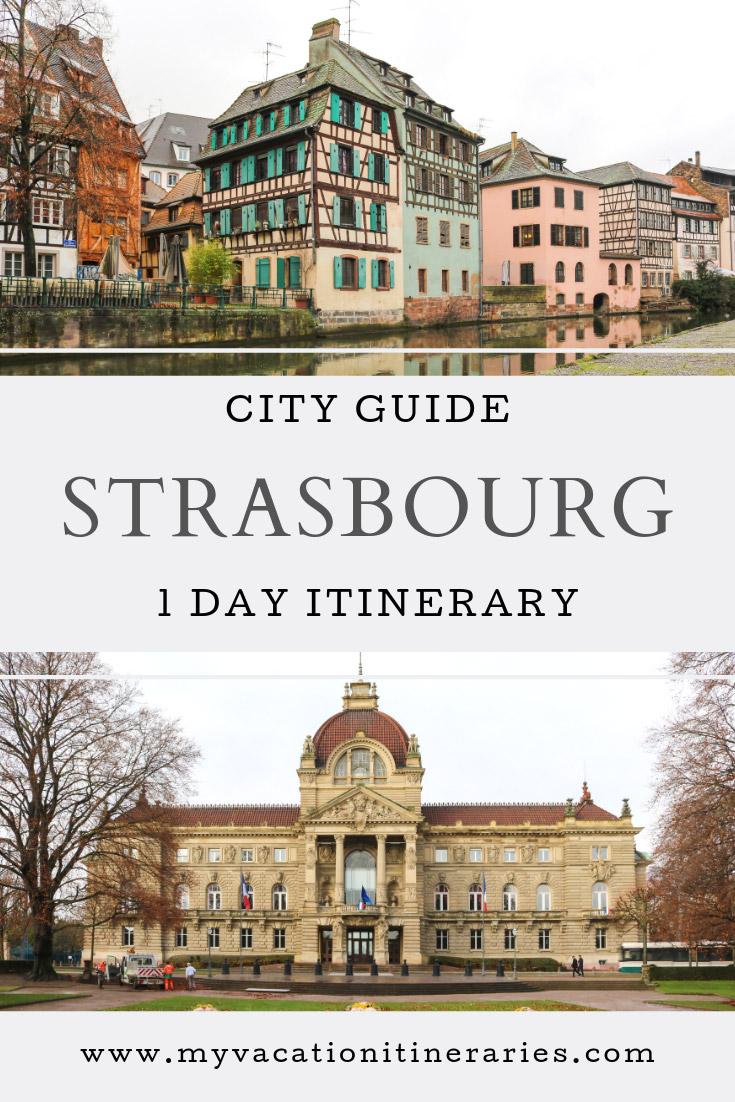 strasbourg itinerary