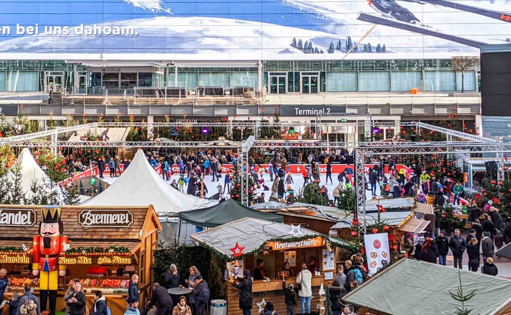 Munich Airport Christmas market