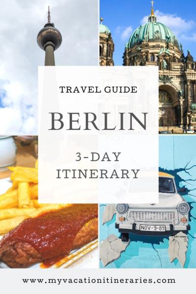 3 day itinerary for berlin