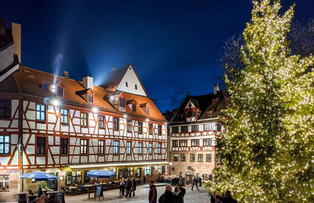 Nuremberg Old Town Christmas