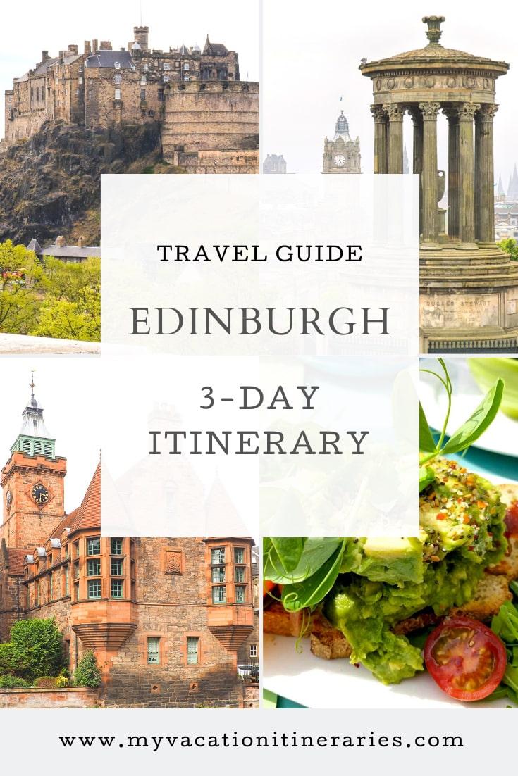 Edinburgh 3 day itinerary