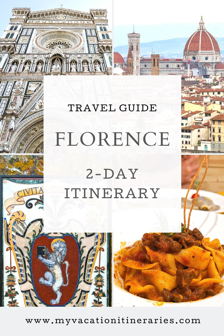 florence itinerary 2 days