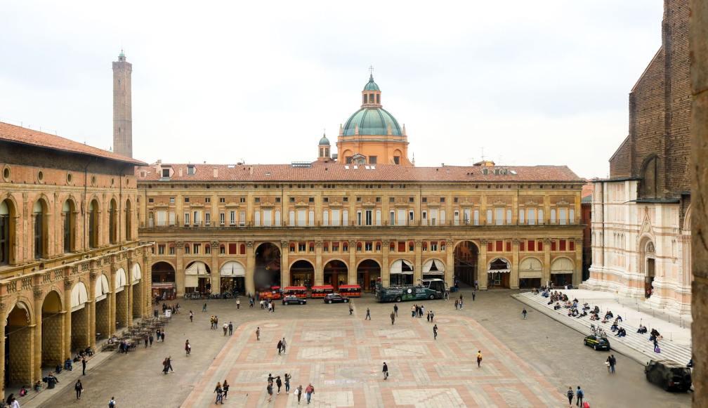 Palazzo d'Accursio view
