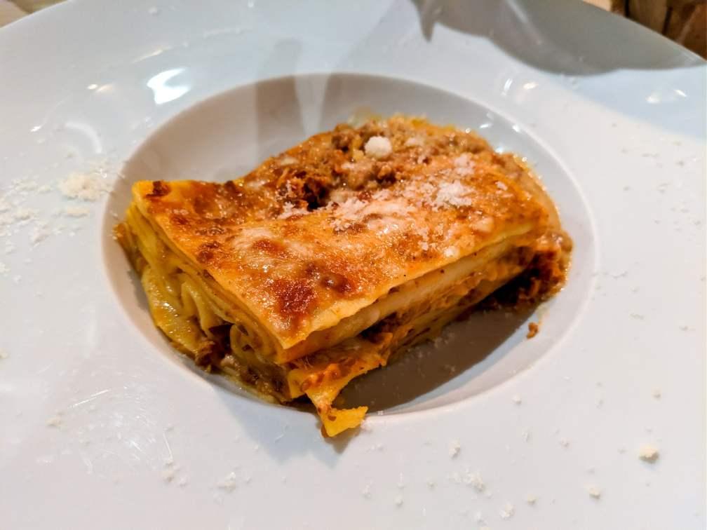 Ristorante Il Granaio Firenze lasagna