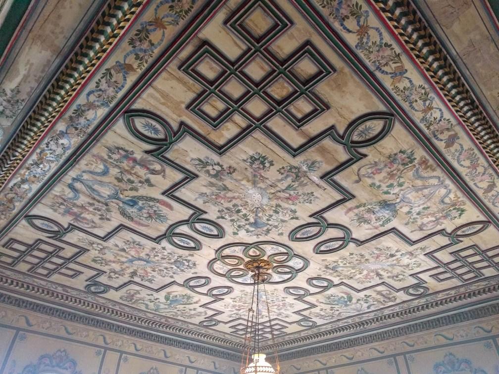 Hindlian House ceiling