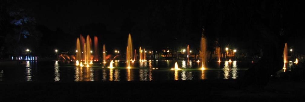 Tsar Simeon Garden fountain show