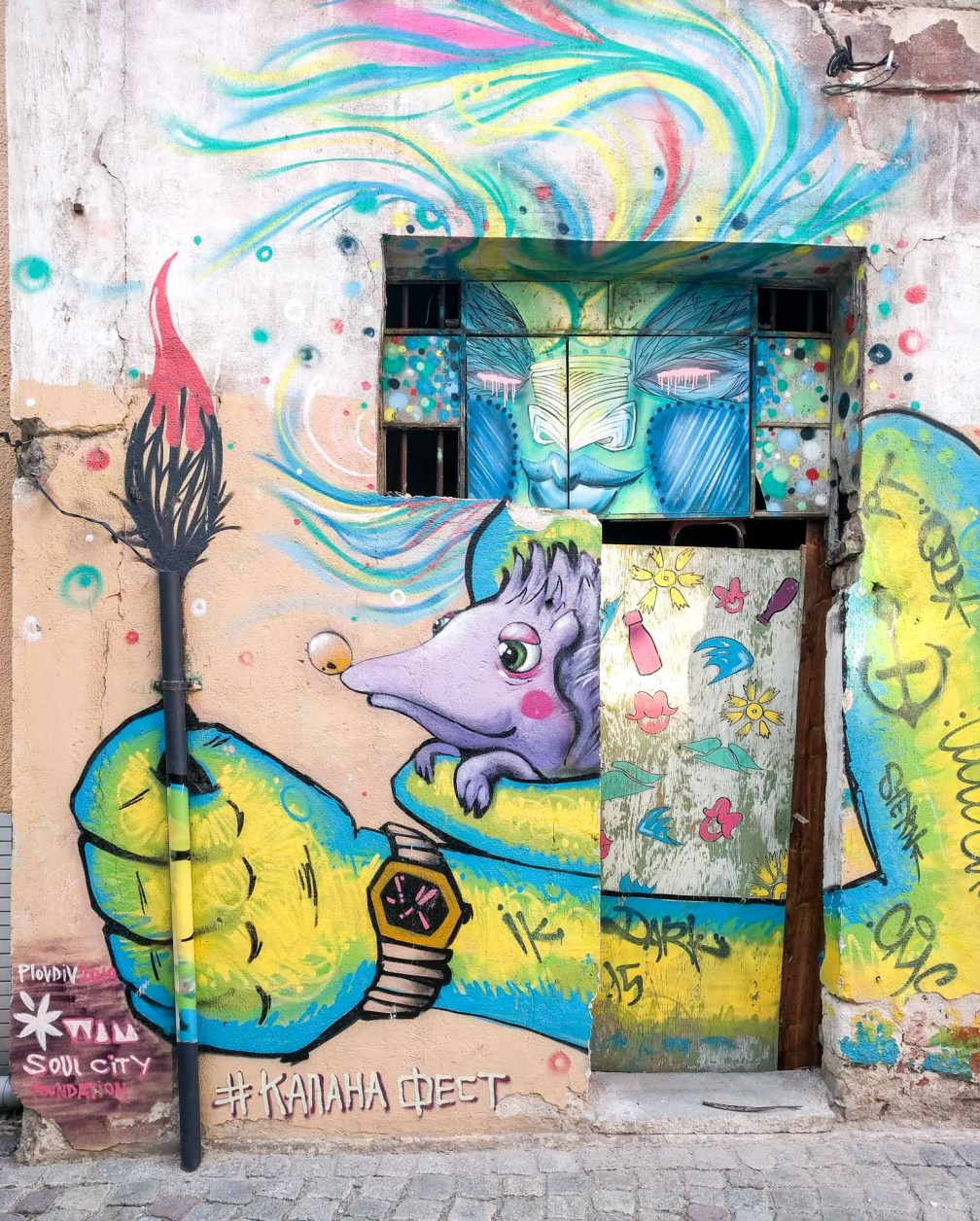 Kapana street art