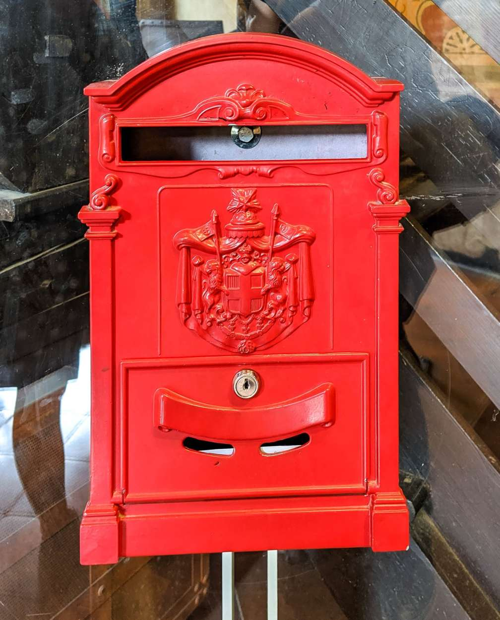 Juliet's House mailbox