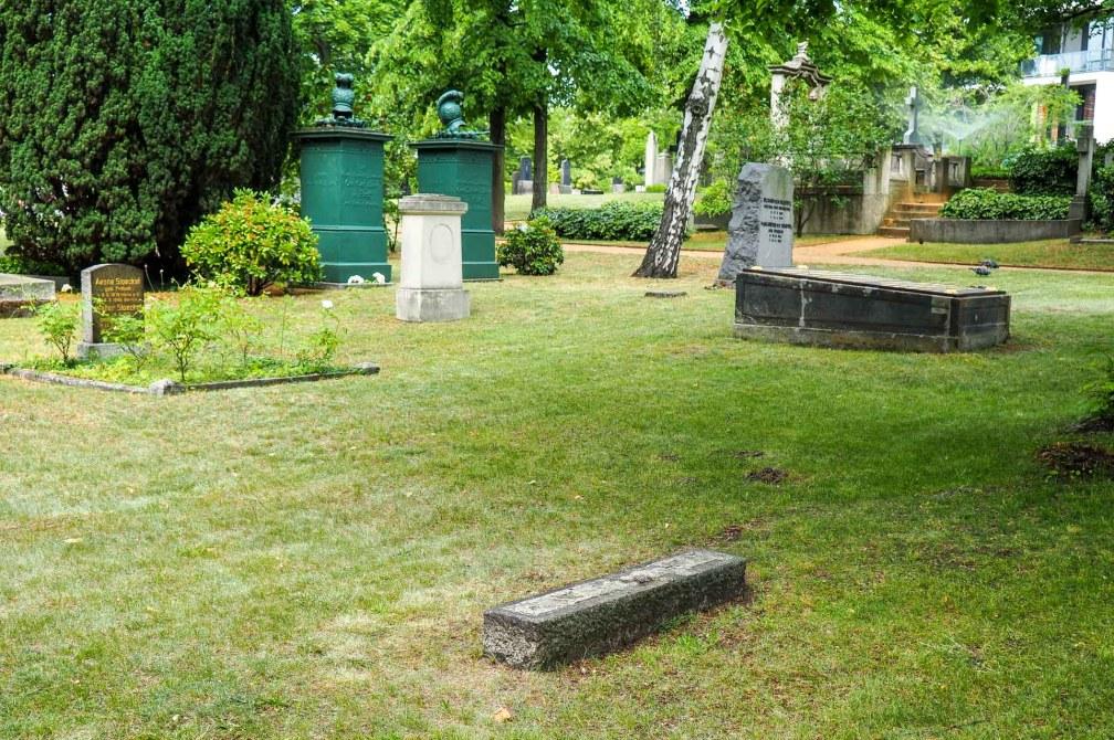 Invalidenfriedhof Heydrich grave