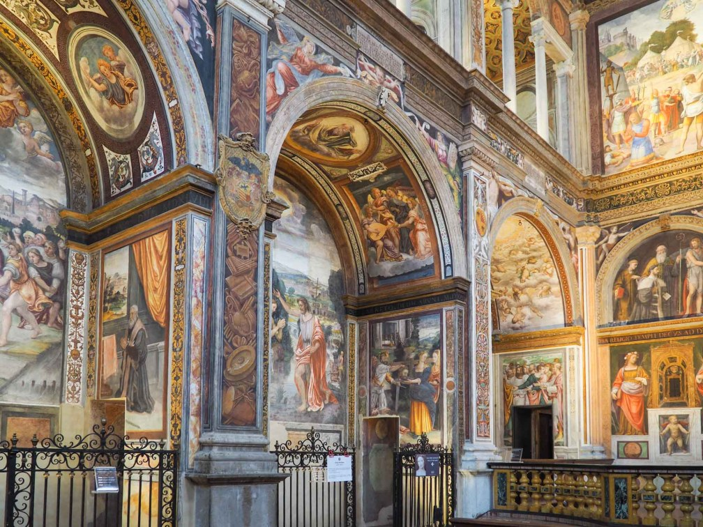Сан Маурицио аль Монастеро Маджоре Милан за один день Как посетить Милан за один день? milan san maurizio
