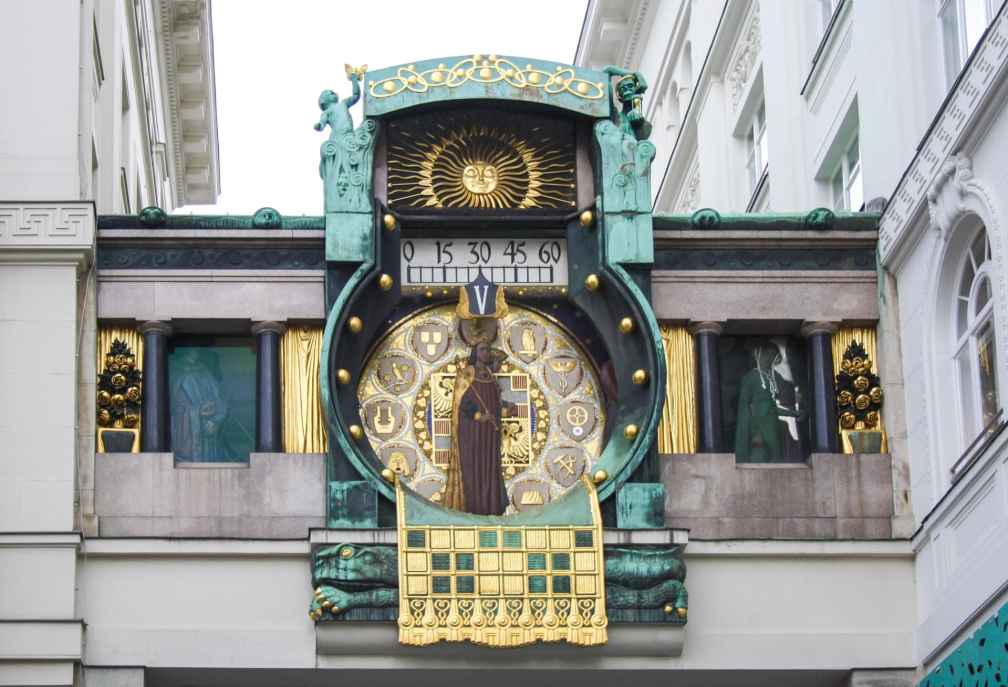 Якорные Часы Венский маршрут Венский маршрут vienna anchor clock
