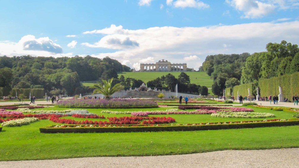 Дворец Шенбрунн Венский маршрут Венский маршрут vienna schonbrunn palace gardens