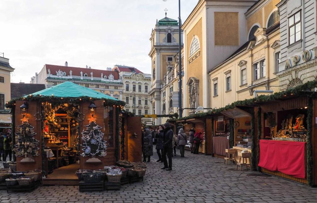 Старый Венский Рождественский базар рождественские рынки в Вене Лучшие рождественские рынки в Вене old viennese christmas market