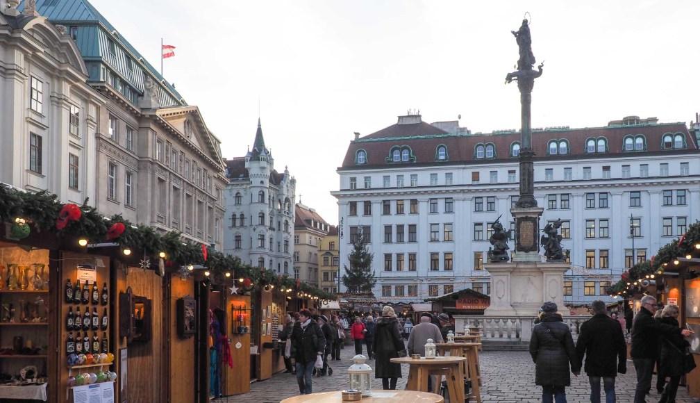 Ам Хоф Адвент Маркет рождественские рынки в Вене Лучшие рождественские рынки в Вене vienna am hof advent market