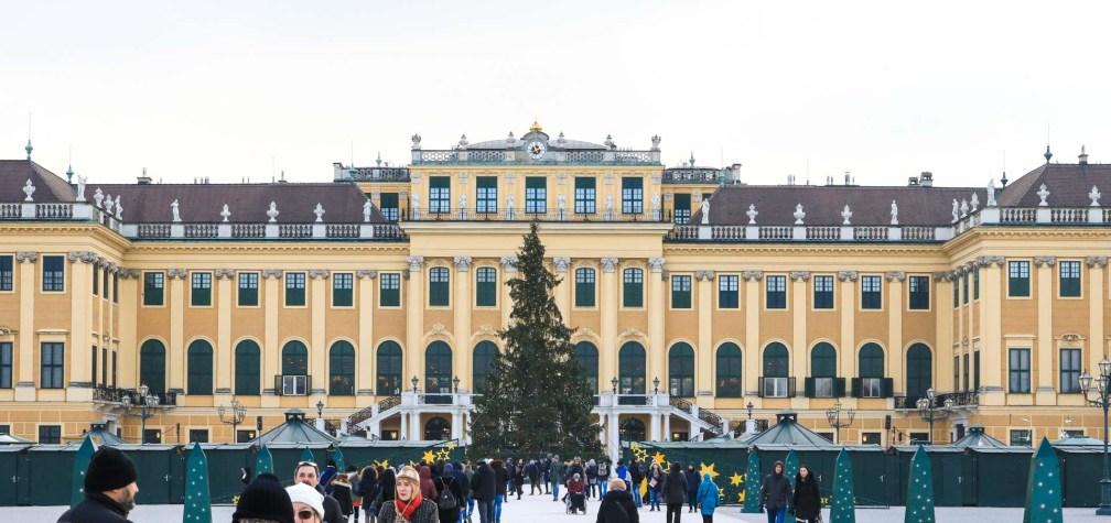 Рождественский базар Шенбрунн Палас рождественские рынки в Вене Лучшие рождественские рынки в Вене vienna christmas market schonbrunn palace