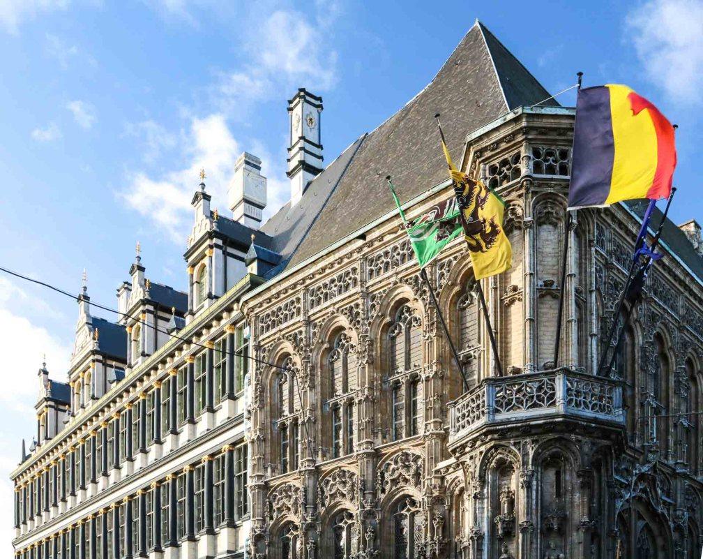 Гентская ратуша Как увидеть Гент за один день (или полдня) Как увидеть Гент за один день (или полдня) ghent city hall