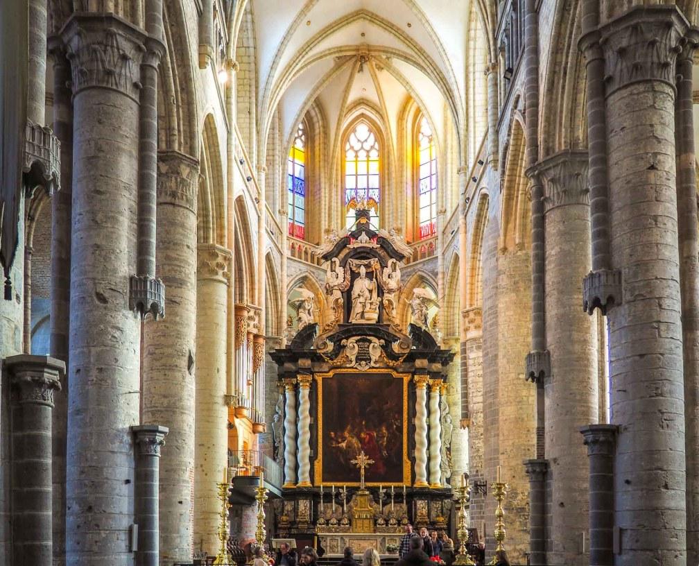 Никольская церковь Как увидеть Гент за один день (или полдня) Как увидеть Гент за один день (или полдня) ghent nicholas church
