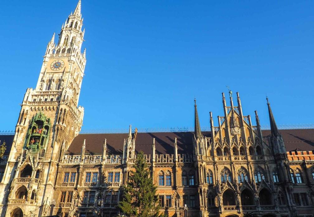 Новая ратуша Идеальный Мюнхенский маршрут Идеальный Мюнхенский маршрут munich new town hall