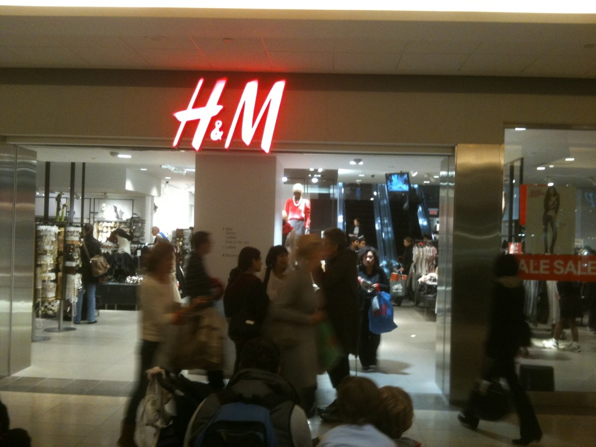 H&M at Vancouver