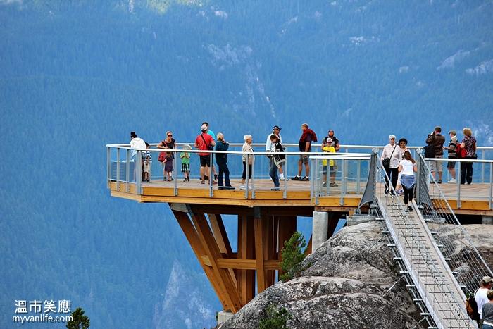 {溫哥華旅遊}  886公尺上的懸空吊橋 — 海天纜車登高記