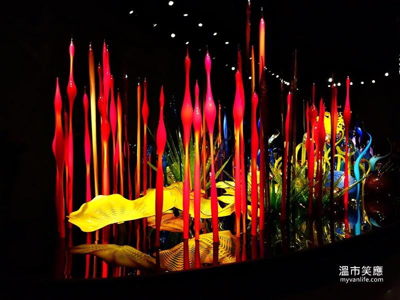 {西雅圖旅遊} 奇幻的琉璃世界 奇胡里玻璃美術館
