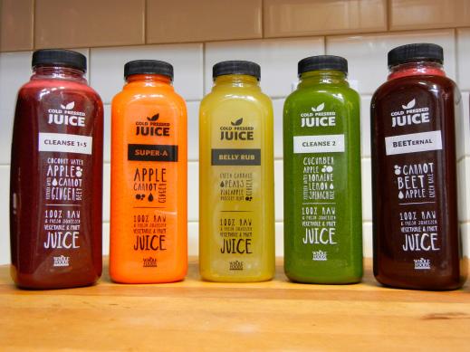 Whole Foods 販售的冷壓果汁 (圖片取自網路)